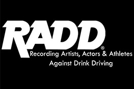 RADD Logo - Recording Artists, Actors & Athletes Against Drink Driving